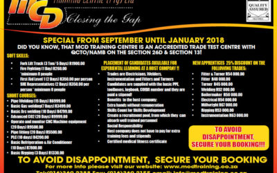 Special From September Until January 2018